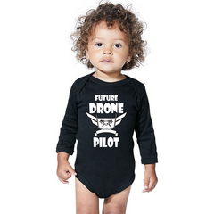Drone Wear  -Infant Long Sleeve Bodysuit