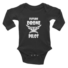 Drone Wear  -Infant Long Sleeve Bodysuit - Drone Wear