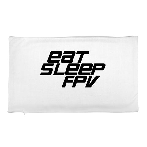 20 x 12 Eat Sleep FPV Pillow Case - Drone Wear