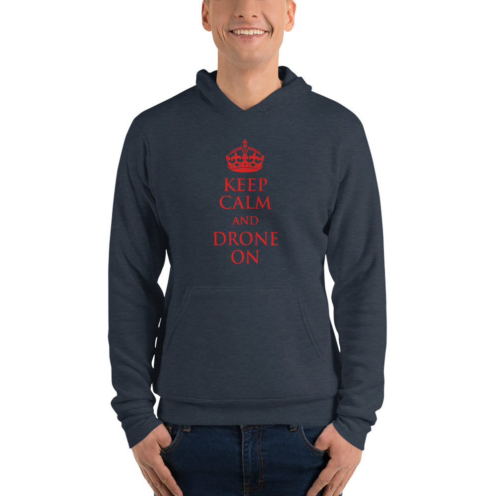 Keep Calm and Drone On Hoodie - Drone Wear