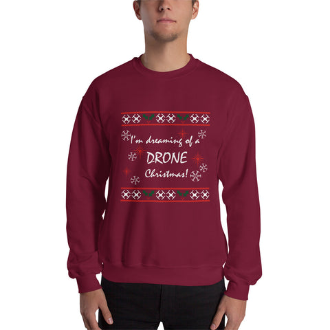 Drone Christmas Ugly Sweater - Drone Wear