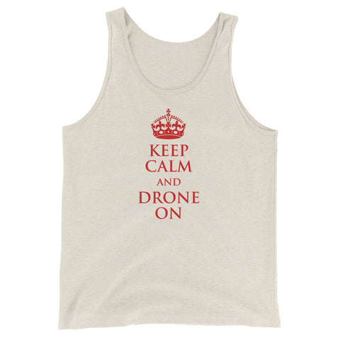 Keep Calm and Drone on Tank - Drone Wear