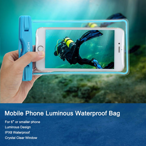 Luminous Waterproof Universal Phone Case