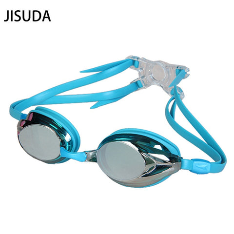 Adult Professional Anti-fog UV Protection Swimming Goggles