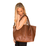 BRAID BAG- COGNAC - Frankie Cameron