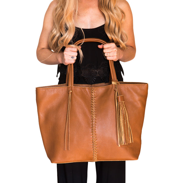 BRAID BAG- BUTTERSCOTCH - Frankie Cameron
