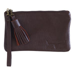 MINI CLUTCH- CHOCOLATE - Frankie Cameron