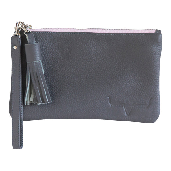 MINI CLUTCH- GRAY - Frankie Cameron
