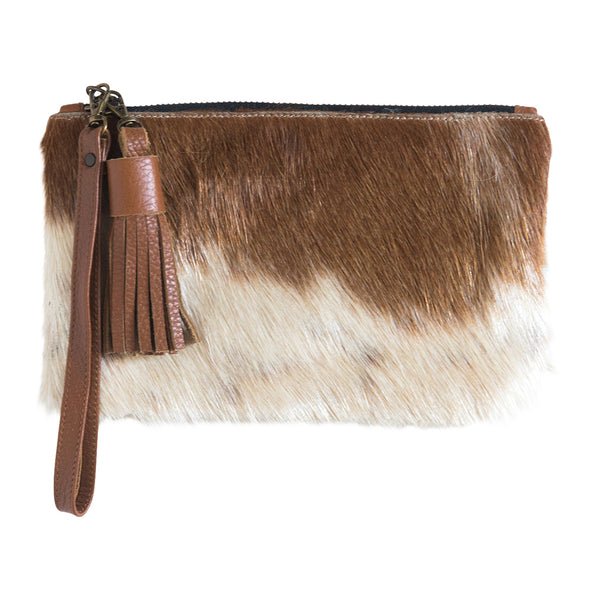 MINI CLUTCH- HIDE - Frankie Cameron