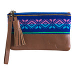 MINI CLUTCH- PURPLE PATTERN - Frankie Cameron