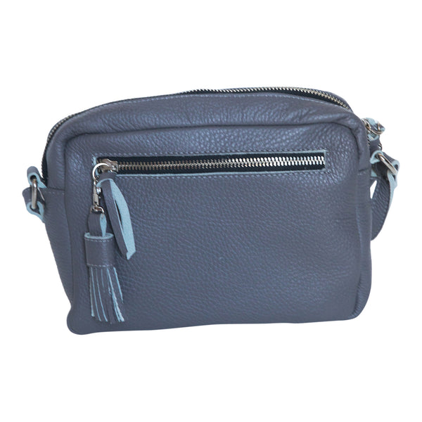 CROSS BODY- GRAY - Frankie Cameron