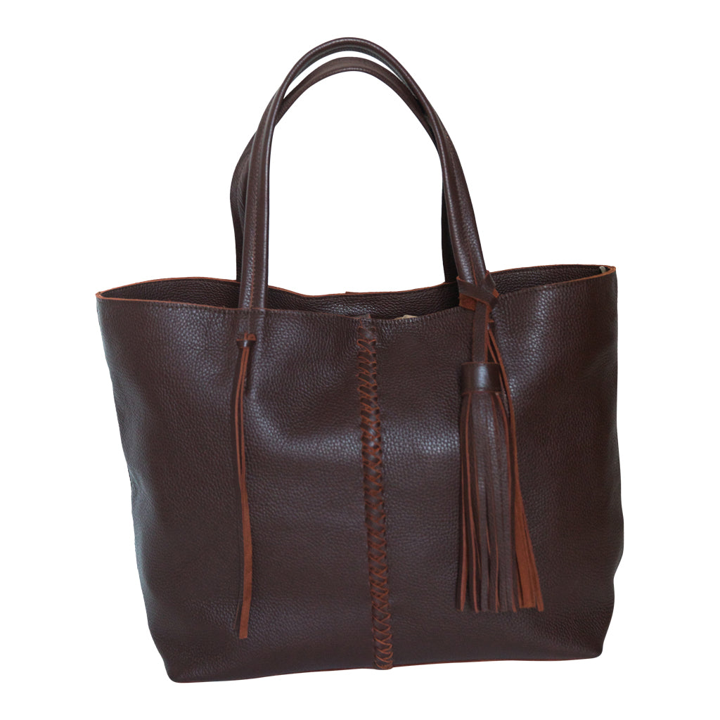 BRAID BAG- CHOCOLATE - Frankie Cameron