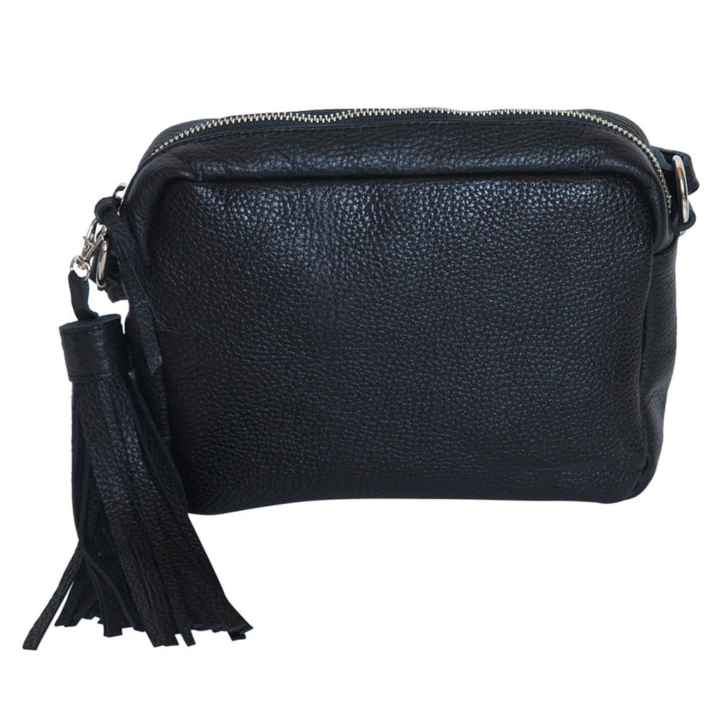 CROSS BODY- BLACK - Frankie Cameron