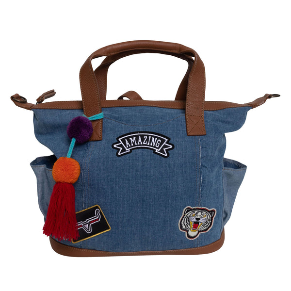 FIESTA BAG- DENIM - Frankie Cameron
