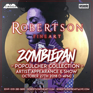 Zombiedan Is Back In The Capital On Saturday the 27th Of October!