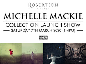 Behind The Scenes: Michelle Mackie On Her New Collection & First Ever Exhibition With Robertson Fine Art!
