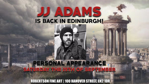 PAST EVENT: 29/09/18 Guess Who's Back... Back Again. JJ Adams Back In The Capital At Robertson Fine Art!