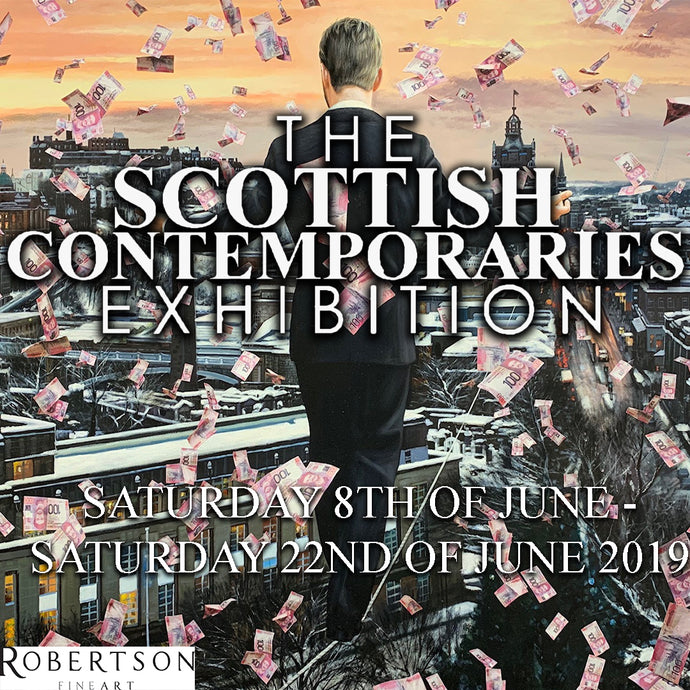 All Of Our Scottish Artists Come Together Under One Roof - At Robertson Fine Art Edinburgh!