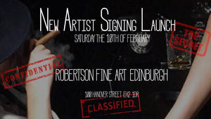 10th of February 2018 - New Top Secret Artist Signing Launch