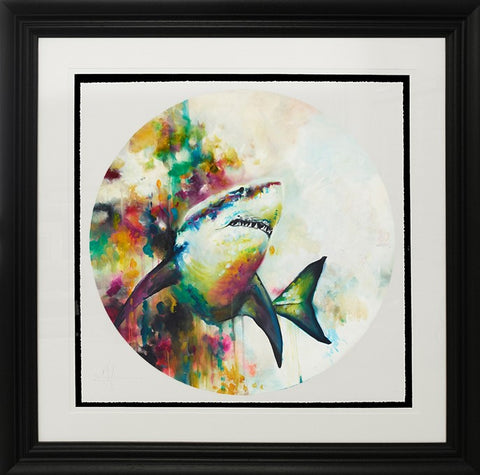 Jaws signed limited edition by Katy Jade Dobson