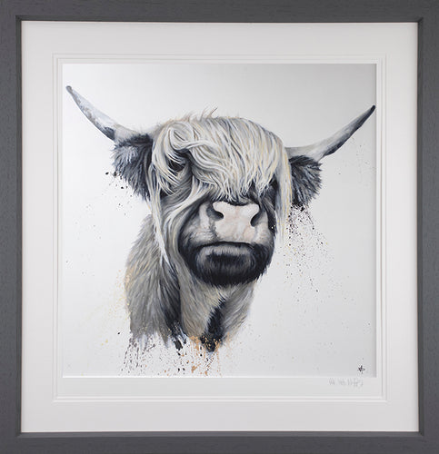 Highland Cow by Dean Martin (The Mad Artist)