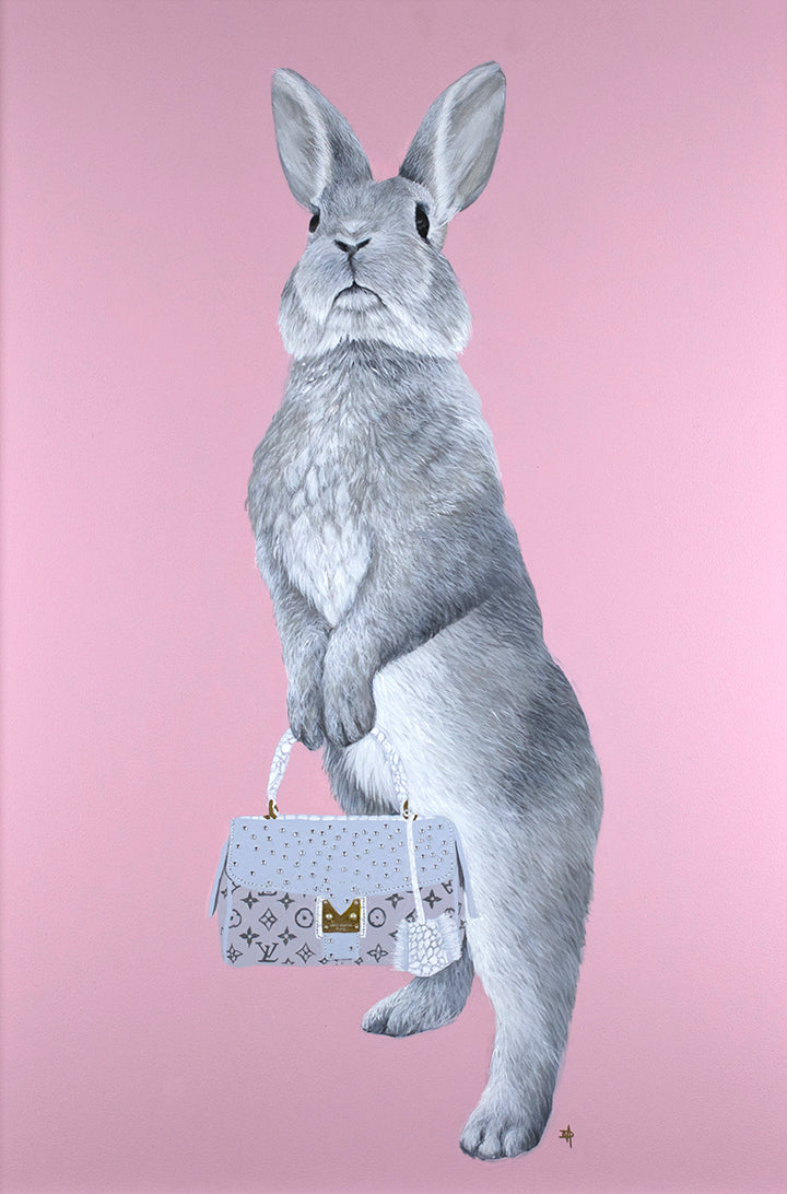 Bunny Girl/ Louis Vuitton by The Mad Artist