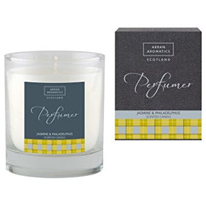 Perfumer Candle - Jasmine & Philadelphus 30cl by Arran Aromatics