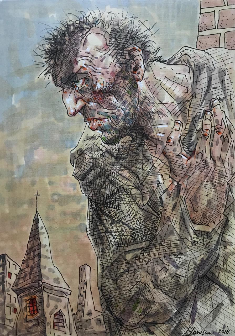 Original Forever Lost by Peter Howson