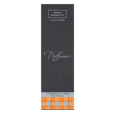 Perfumer Reed Diffuser - Cedarwood & Citrus by Arran Aromatics