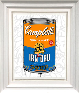 Irn Bru Soup (Small) by JJ Adams