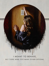 I Meant To Behave by Richard Blunt