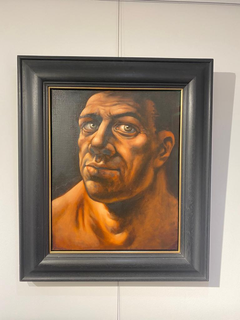 Original Head Study by Peter Howson