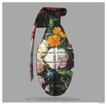 Floral Grenade by Monica Vincent