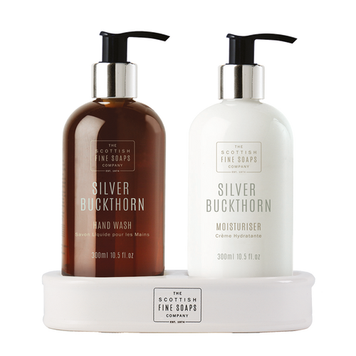 Silver Buckthorn Hand Care Set by The Scottish Fine Soaps Company