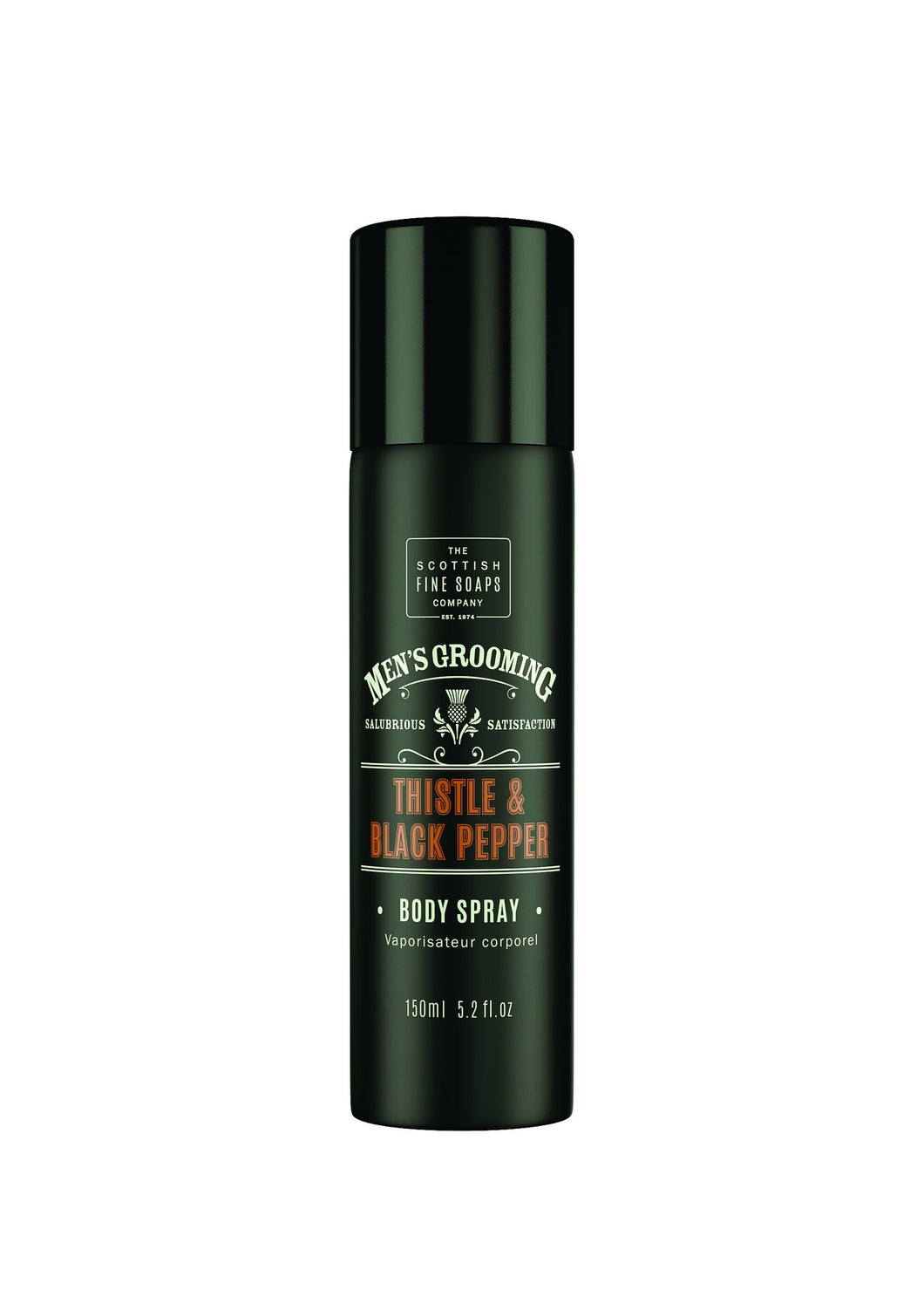 Thistle & Black Pepper Body Spray by The Scottish Fine Soaps Company