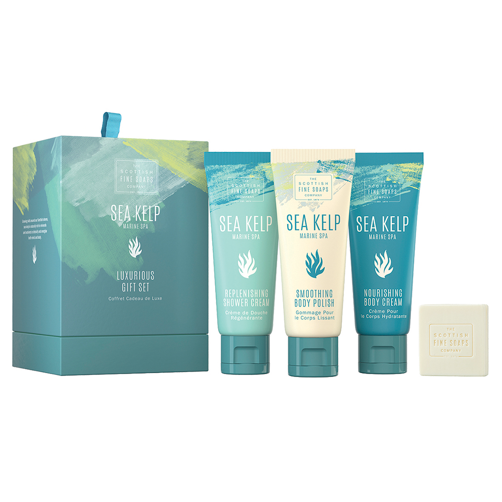 Sea Kelp Luxurious Gift Set by The Scottish Fine Soaps Company