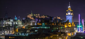Edinburgh Evenings by John Pow