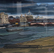 Original St Pauls Over The Thames by Kerr Rodgie