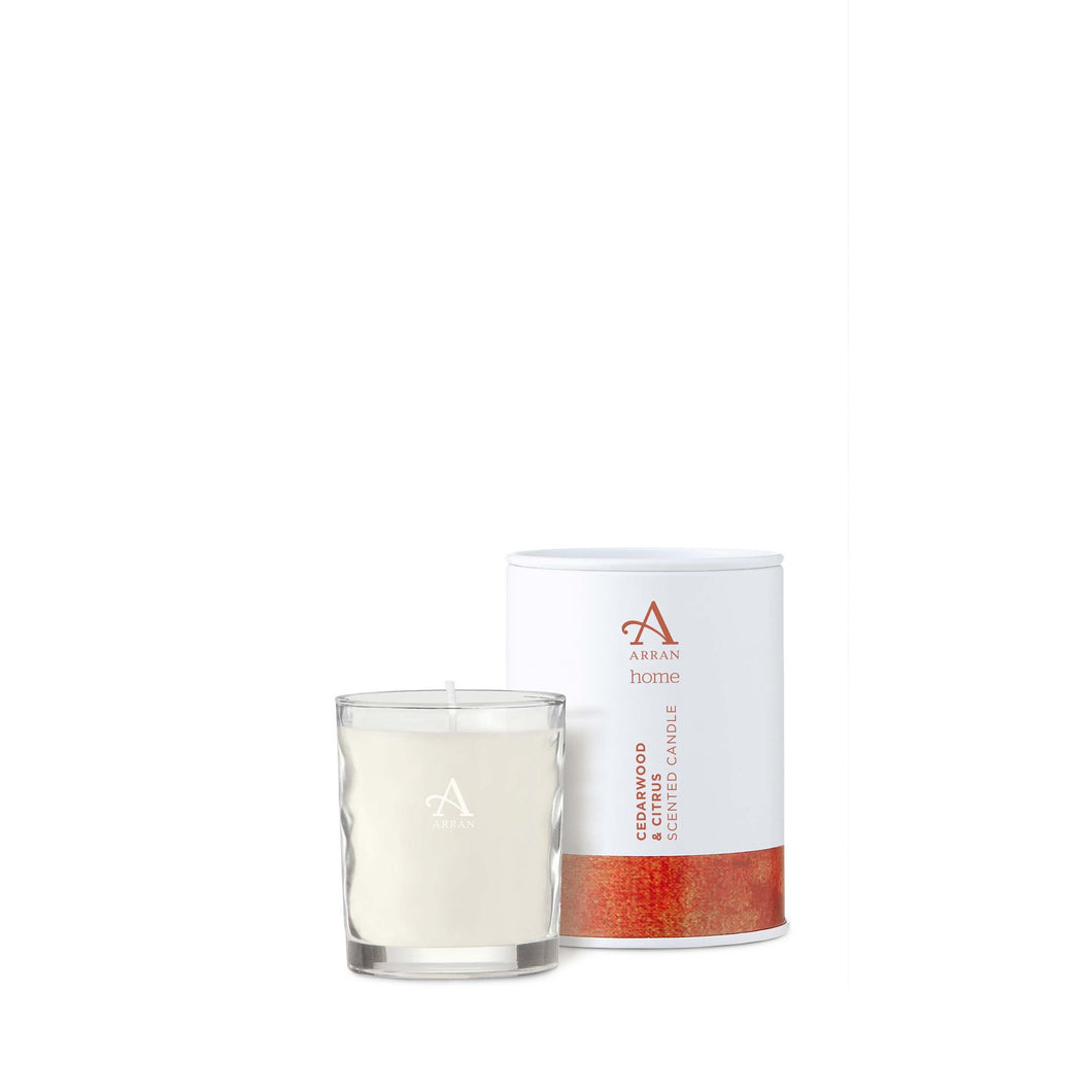 Cedarwood & Citrus - Small Candle by Arran Aromatics