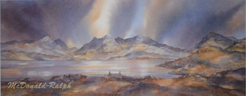 Hebridean Skyline by Gillian McDonald