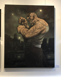 Original Seconds Away by Peter Howson