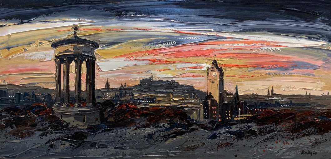 Original Calton Hill by Lynn Rodgie