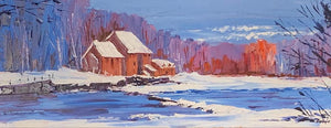 Original Mertoun Mill by Lynn Rodgie