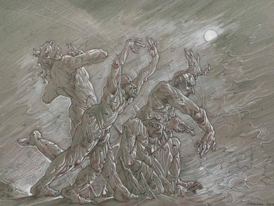 Original Walmington-on-Sea by Peter Howson