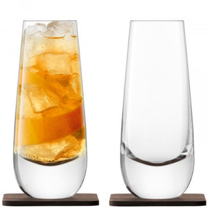 Whisky Glass and Coaster Set - LSA
