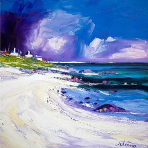 Rain Squall, Balemartine, Isle of Tiree by Jolomo ( John Lowrie Morrison )