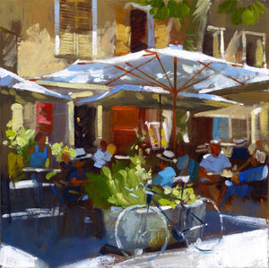 Cafe Tour Tour, Provence by Jack Morrocco