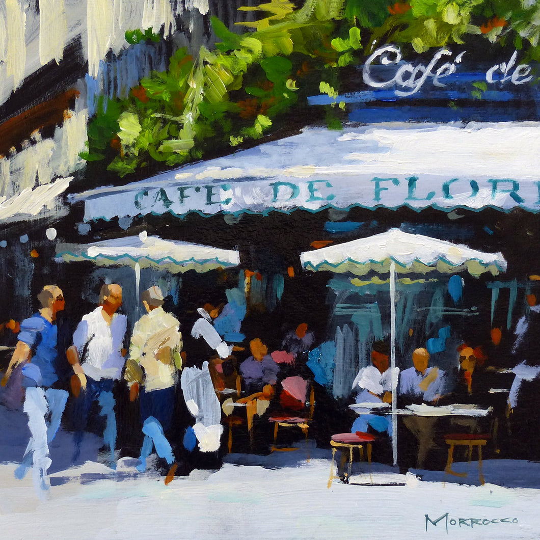 Cafe de Flore, Paris by Jack Morrocco