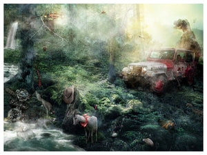 Life will find a way (Jurassic Park) by Mark Davies