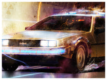 Outtahere (back to the future) by Mark Davies